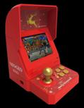 「ネオジオ ミニ」クリスマス限定版 - 真っ赤な筐体に通常版と異なる収録タイトル&付属品