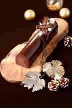 パリ発「リベルテ」のクリスマスケーキ、東京・京都で - 上品なチョコムースのブッシュ ド ノエルなど