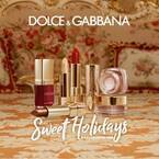 ドルチェ&ガッバーナ ビューティのクリスマス限定コスメ、バロック柄パッケージの限定リップなど