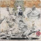 宇野亞喜良展「言語的絵画」銀座三越で - 言葉と絵画をコラージュした描き下ろし原画30点が集結