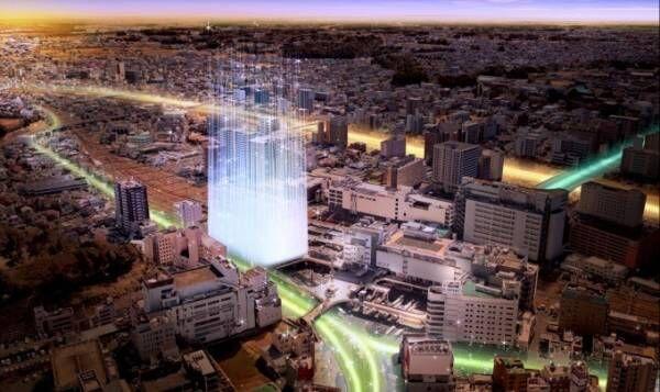 水戸駅前に複合オフィスビル「エムズインターナショナル(仮称)」が2019年秋誕生、商業エリアも