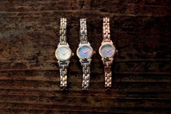 スタージュエリー ガールの新作腕時計 - 小ぶりフェイス×マザーオブパールのジュエリーウォッチ