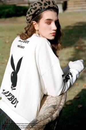マウジー×プレイボーイ、50~60年代発行のマガジンカバーをモチーフにしたTシャツなど