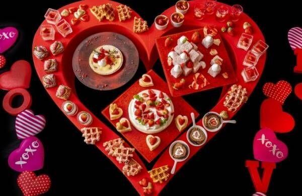 ヒルトン小田原リゾート&スパの苺デザートブッフェ、ロールケーキやパブロバなど様々なメニューが食べ放題