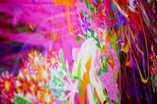 写真家・蜷川実花×デジタルミュージアム「チームラボボーダレス」の展覧会がラフォーレ原宿で開催