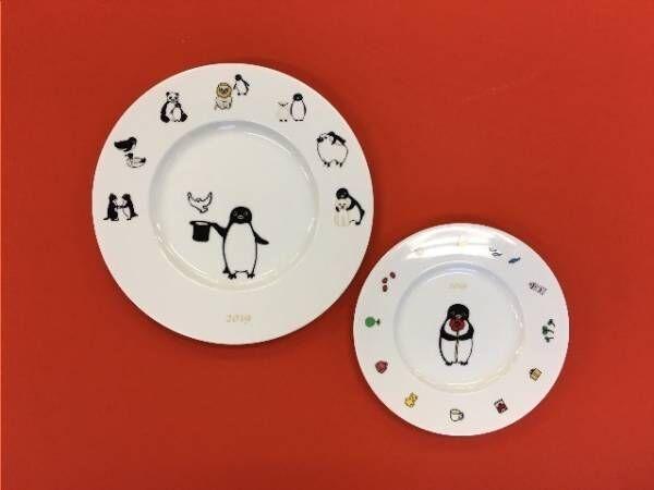 Suicaのペンギン作家によるペンギングッズ - 九谷焼皿 や今治刺繍タオルなど伊勢丹新宿で発売