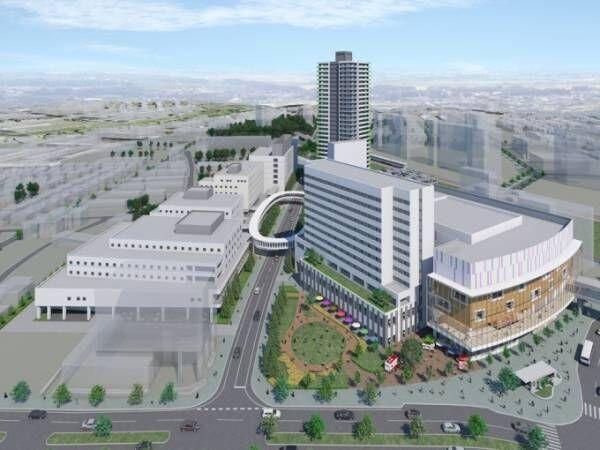 「新さっぽろ駅」周辺が大規模複合開発プロジェクトで生まれ変わる!商業施設・ホテル・マンションなど続々