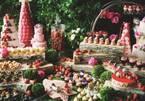 コンラッド東京「いちごスイーツビュッフェ」苺のベルギーワッフルや仏シューパリジャンなど