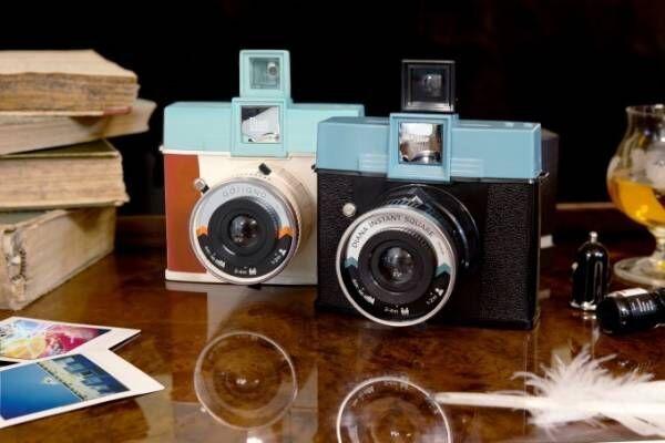 ロモグラフィーの新インスタントカメラ「ダイアナ インスタント スクエア」鮮やかな色×ドリーミーな写り