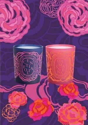 ディプティック「ローズコレクション」2種類のバラの香りが楽しめるフレグランスキャンドル