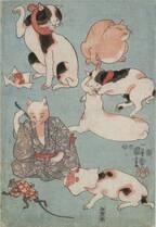 「いつだって猫展」仙台市博物館で、江戸時代の猫ブームを歌川国芳らの浮世絵と共に紹介