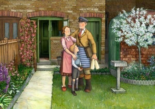 アニメ映画『エセルとアーネスト ふたりの物語』絵本「スノーマン」の著者が両親を描いた伝記絵本を映画化
