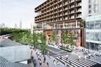 原宿駅前に新複合施設「ウィズ ハラジュク」20年4月オープン、イケアやユニクロ出店&イベントホールも