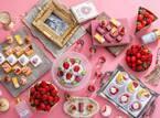 ホテルニューオータニ大阪の苺ブッフェ、ブランド苺の食べ比べ&インテリア雑貨「スワティー」とコラボも