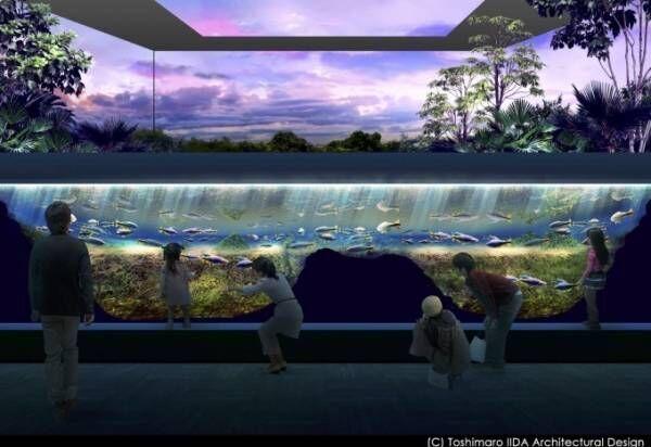 「川崎ルフロン」に日本初となる駅前商業施設内の水族館が誕生 - 2020年夏、大規模リニューアル