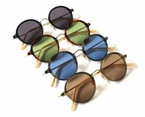 サイ×グローブスペックスの新アイウェア「サイ スペックス」誕生、ジョン・レノン着想の丸眼鏡など