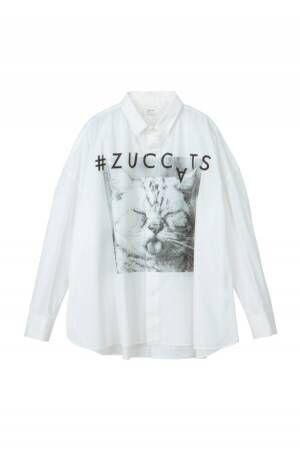 ズッカ×猫写真家・沖昌之「#ZUCCATS」自由気ままな猫たちをプリントしたスウェットなど