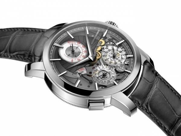 ヴァシュロン・コンスタンタンの新作時計、ワンプッシュで65日間パワーリザーブ