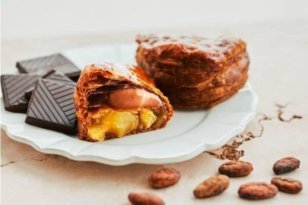 焼きたてカスタードアップルパイ専門店「リンゴ」から、バレンタイン限定チョコカスタードアップルパイ