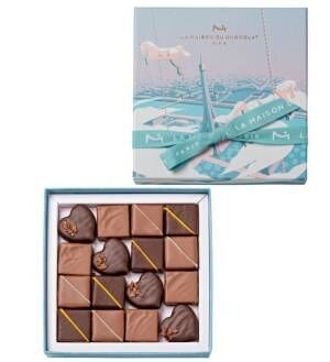 """ラ・メゾン・デュ・ショコラのバレンタインチョコレート、""""揺れる想い""""を表現する限定ギフトボックス"""
