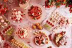 """""""ひなまつり""""がテーマの苺スイーツブッフェ、京王プラザホテルで - 苺タルトやケーキを雛飾りとともに"""