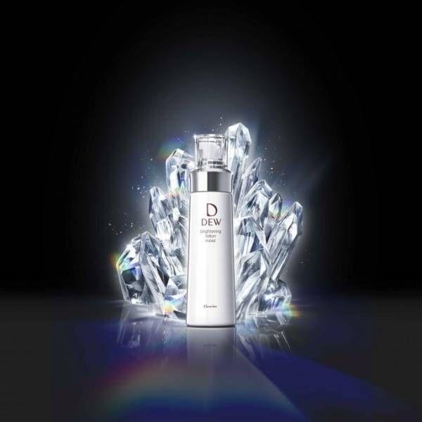 DEW(デュウ)から「ブライトニング美白」ラインが誕生、濃密とろみ触感のスキンケアで透明肌に