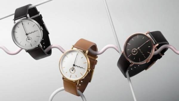 """アークコレクティブの新作腕時計「タイド ニュー」壮大な海から生まれる""""波""""をモチーフに"""