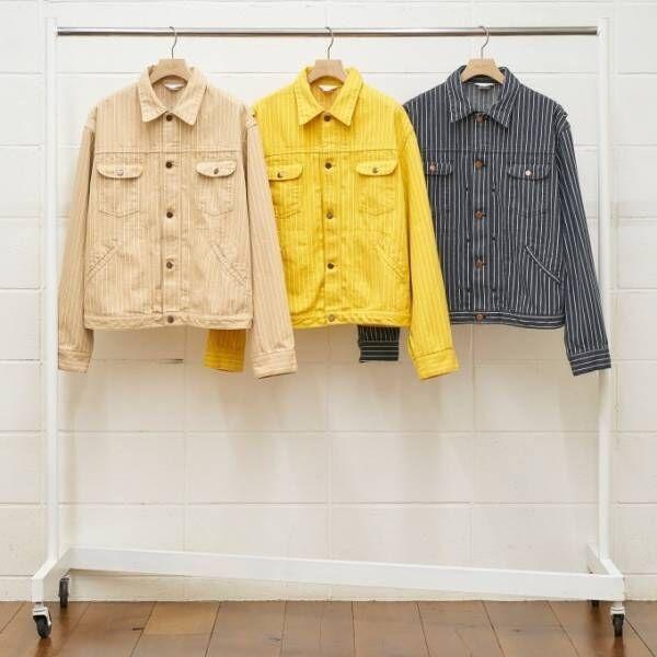 アンユーズド メンズ&ウィメンズ、イエローのデニムジャケット&立体的なポケットを配したロングコート等