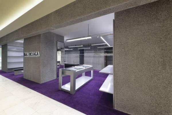 バレンシアガ、新店舗を丸井今井札幌店にオープン - 北海道初メンズ&ウィメンズ両方展開