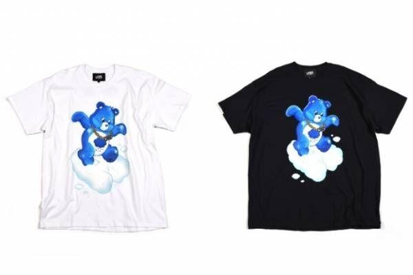 ケアベア「グランピーベア」を描いたTシャツ、ランド バイ ミルクボーイ&アルタスープとコラボ