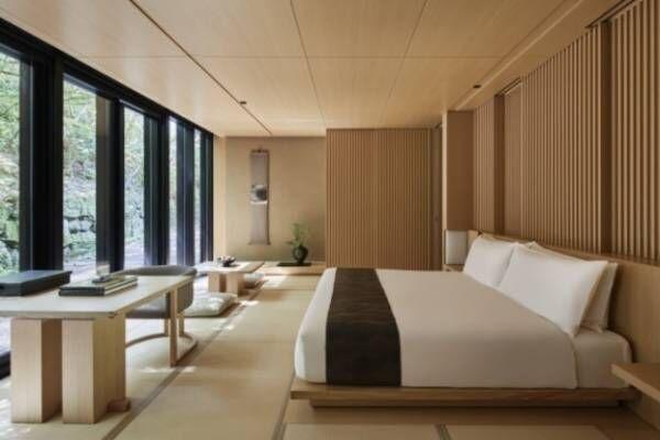 「アマン京都」が京都洛北にオープン - ミニマルなデザインの客室やスパで、自然を味わうリゾート