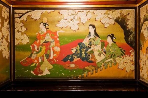 「春・さくら、咲クヤat百段階段」古典歌舞伎の衣装や江戸のかんざし、工芸品など桜がテーマの作品集結