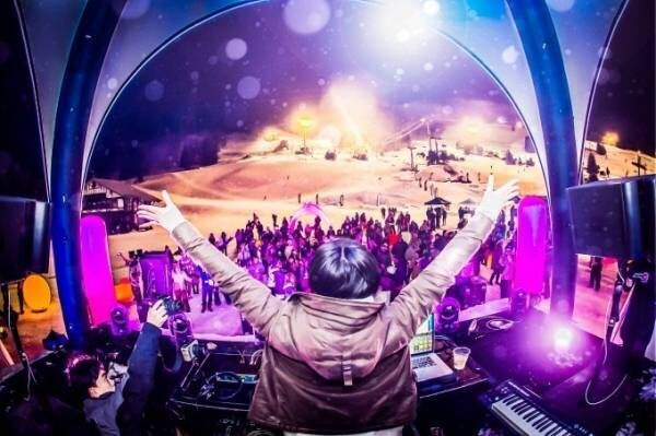 入場無料の雪山音楽フェス「スノーライトフェスティバル」新潟・苗場スキー場で、PESやSALUら出演