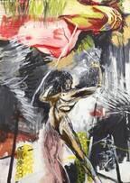 展覧会「横尾忠則 大公開制作劇場 ~本日、美術館で事件を起こす」兵庫で、即興的な公開制作の軌跡を辿る