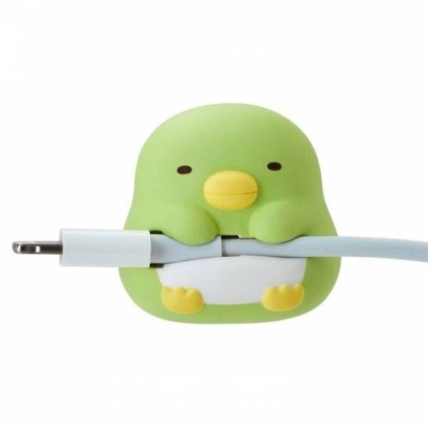 すみっコぐらし&リラックマが、iPhone充電ケーブルの断線保護「すやすや☆オン・ザ・ケーブル」新作