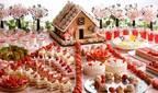 「ヘンゼルとグレーテル」モチーフのスイーツブッフェがシェラトン都ホテル大阪で、苺と桜スイーツのお花畑