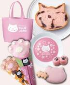 """""""ねこ型の食パン""""さくら風味の「sakura(あんこ)」大阪で限定発売、猫スイーツ入りセットも"""