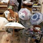 コシラエルの日傘セミオーダー会が神戸&東京で開催、1点物の日傘を自分好みにカスタマイズ