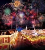 ハウステンボス「春の九州一花火大会」九州最大規模の花火大会、5分間で約4千発連続打ち上げ花火も