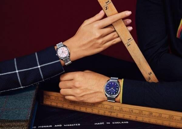 ポール・スミスの腕時計「クローズド アイズ」に光を動力源にするソーラーテック搭載の新モデル