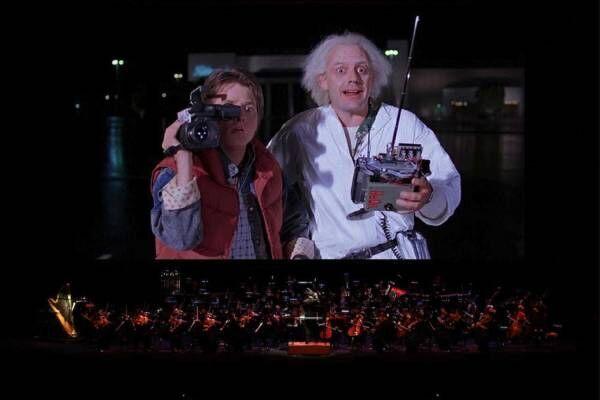 『バック・トゥ・ザ・フューチャー』全編をオーケストラ生演奏と共に楽しむコンサート、NHKホールで開催