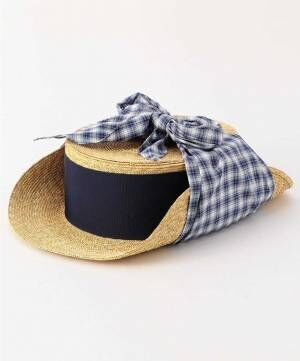 ファセッタズム×キジマ タカユキのハット、カンカン帽にイヤーフラップやスカーフを合わせて