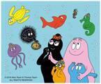 新江ノ島水族館×バーバパパ、館内各所にファミリー登場 - 限定グッズも