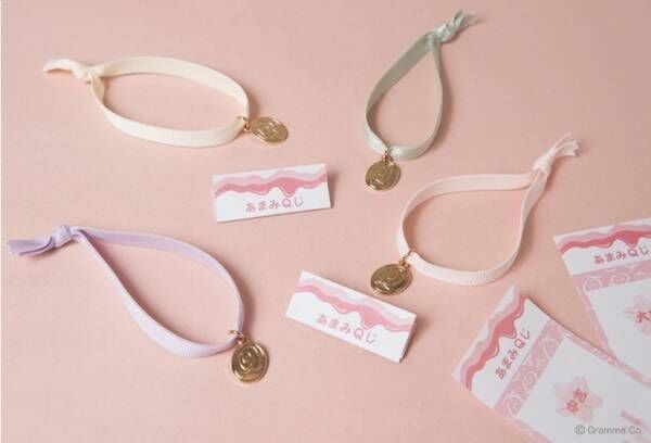 """Q-pot.""""おかし""""なさくらまつり、キャンディー型ネックレスなど桜色アクセが新宿高島屋に集結"""