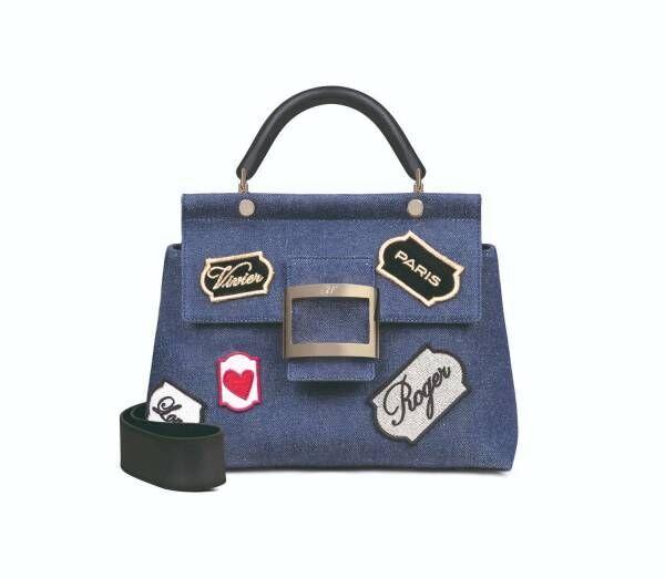 """ロジェ ヴィヴィエ """"クルージング""""に着想したブルーデニムの新作バッグ、阪急うめだ本店では先行販売"""