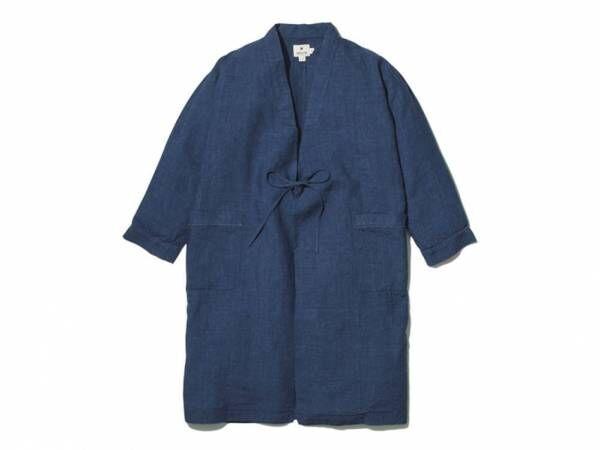 """スノーピーク新作、古来の""""野良着""""をアレンジした藍色リネンのジャケット、パンツが登場"""