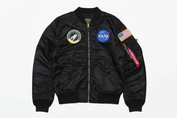 アルファ インダストリーズの新作フライトジャケット - NASA&スペースシャトルのパッチ