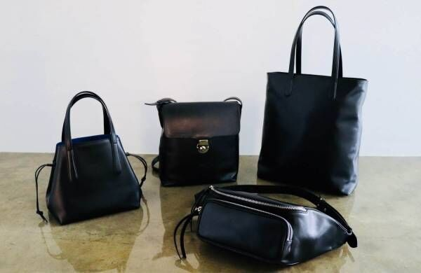 ナオキ タキザワから、英国王室御用達の高級革メーカー「シンプソン ロンドン」別注バッグ全4型