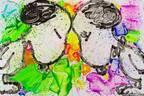 スヌーピーを世界で唯一自由に描ける画家「トム・エバハート」展示販売会が東京・福岡で開催