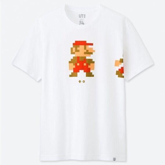 ユニクロ「UT」×任天堂、スーパーマリオとスプラトゥーンをモチーフにしたTシャツ登場